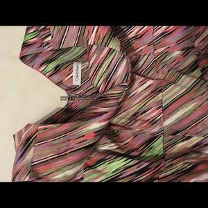 Calvin Klein Multi Pattern Dress